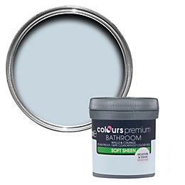 Colours Bathroom Oxygen Soft Sheen Emulsion Paint 50ml