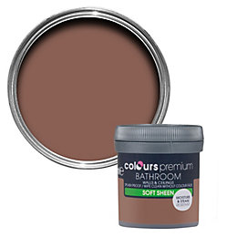 Colours Bathroom Fired Brick Soft Sheen Emulsion Paint