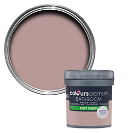 Colours Bathroom Muted Rose Soft Sheen Emulsion Paint