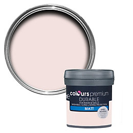 Colours Durable Subtle Blush Matt Emulsion Paint 0.05L