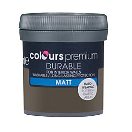 Colours Durable Dark Horse Matt Emulsion Paint 0.05L