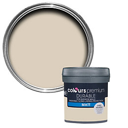 Colours Durable Soft Coffee Matt Emulsion Paint 0.05L