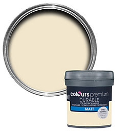 Colours Durable Magnolia Matt Emulsion Paint 0.05L Tester