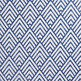 Colours Hadley Blue Geometric Mica Wallpaper