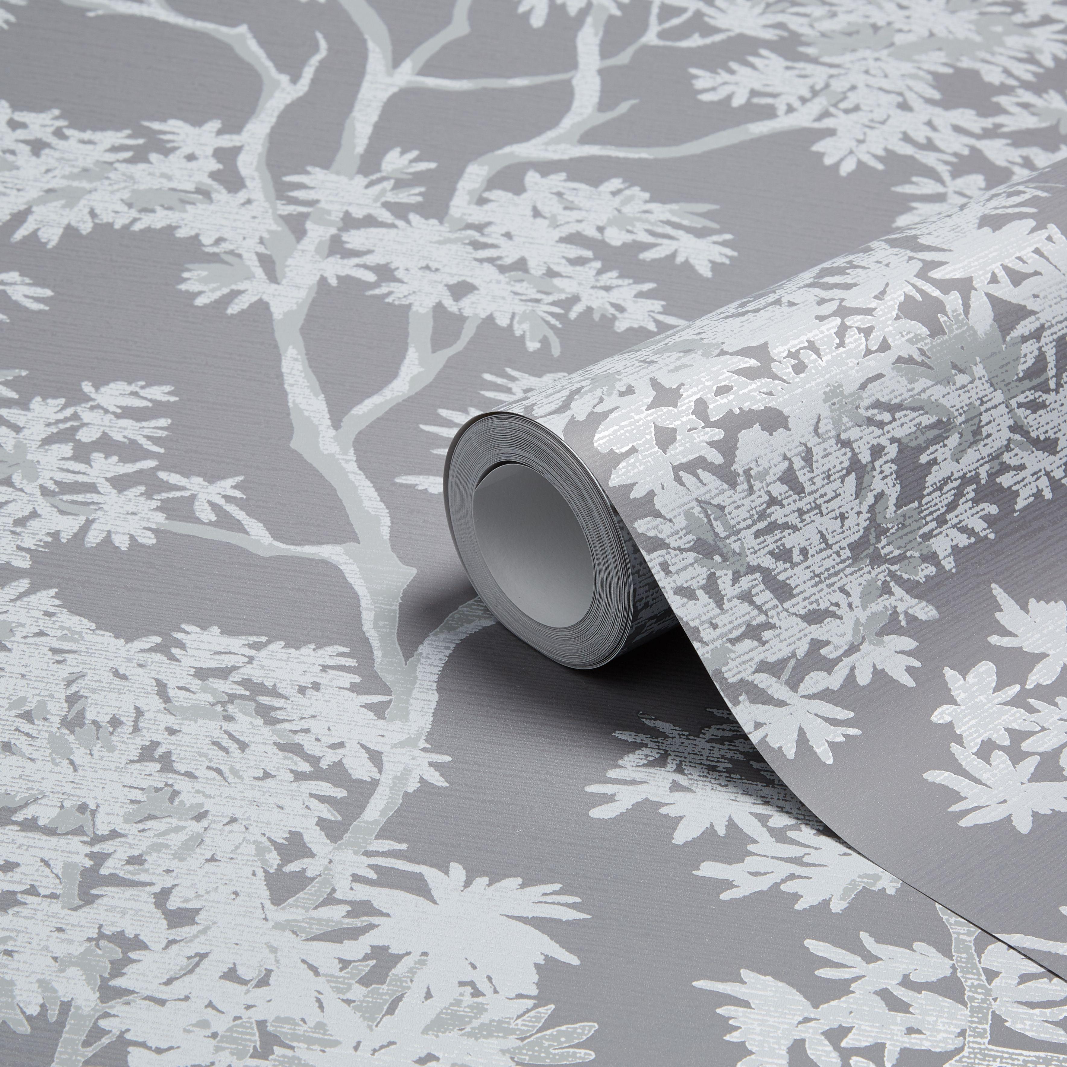 charcoal bedroom wallpaper diy