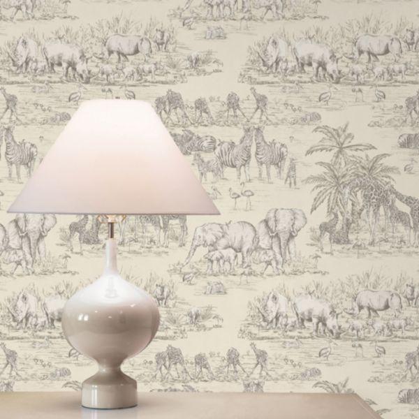 Animal Wallpaper. Wallpaper   Painting   Decorating   DIY at B Q