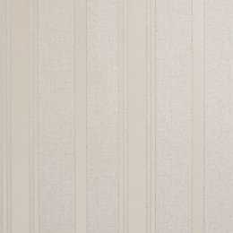 Colours Zara Silver Stripe Glitter Wallpaper