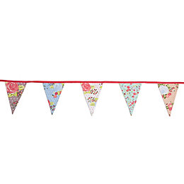 Floral Bunting, (L)3.05m
