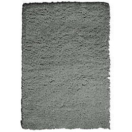 Colours Ava Light Grey Rug (L)1.6m (W)1.2m
