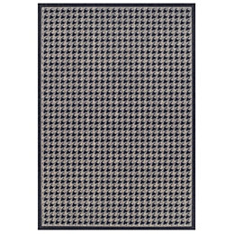 Colours Amara Black & Grey Houndstooth Rug (L)1.6M