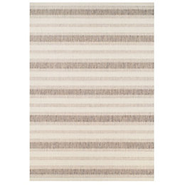 Colours Arianna Cream & Natural Rug (L)1.2m (W)0.6m