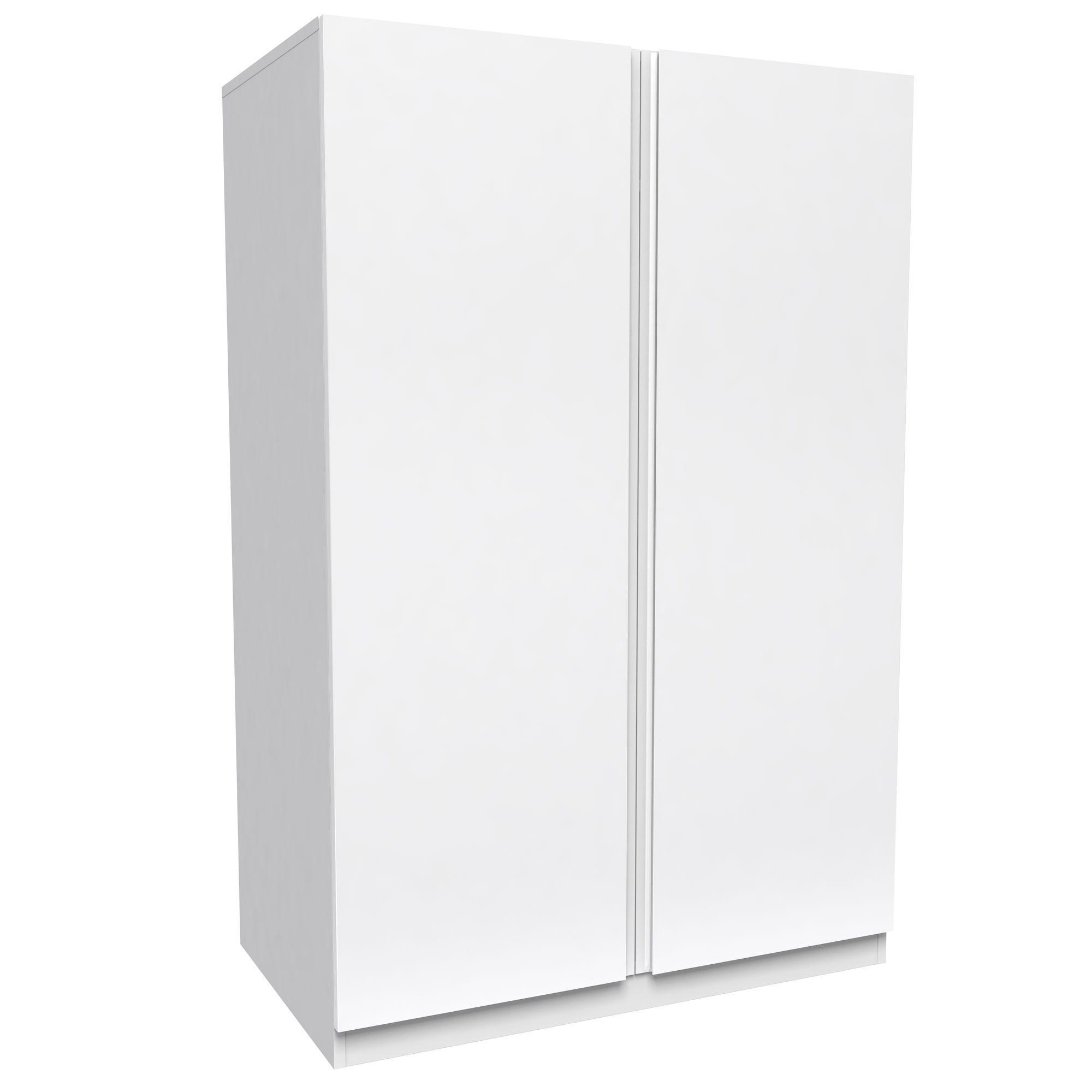 Darwin Handpicked White 2 Door Wardrobe (h)1506mm (w)998mm