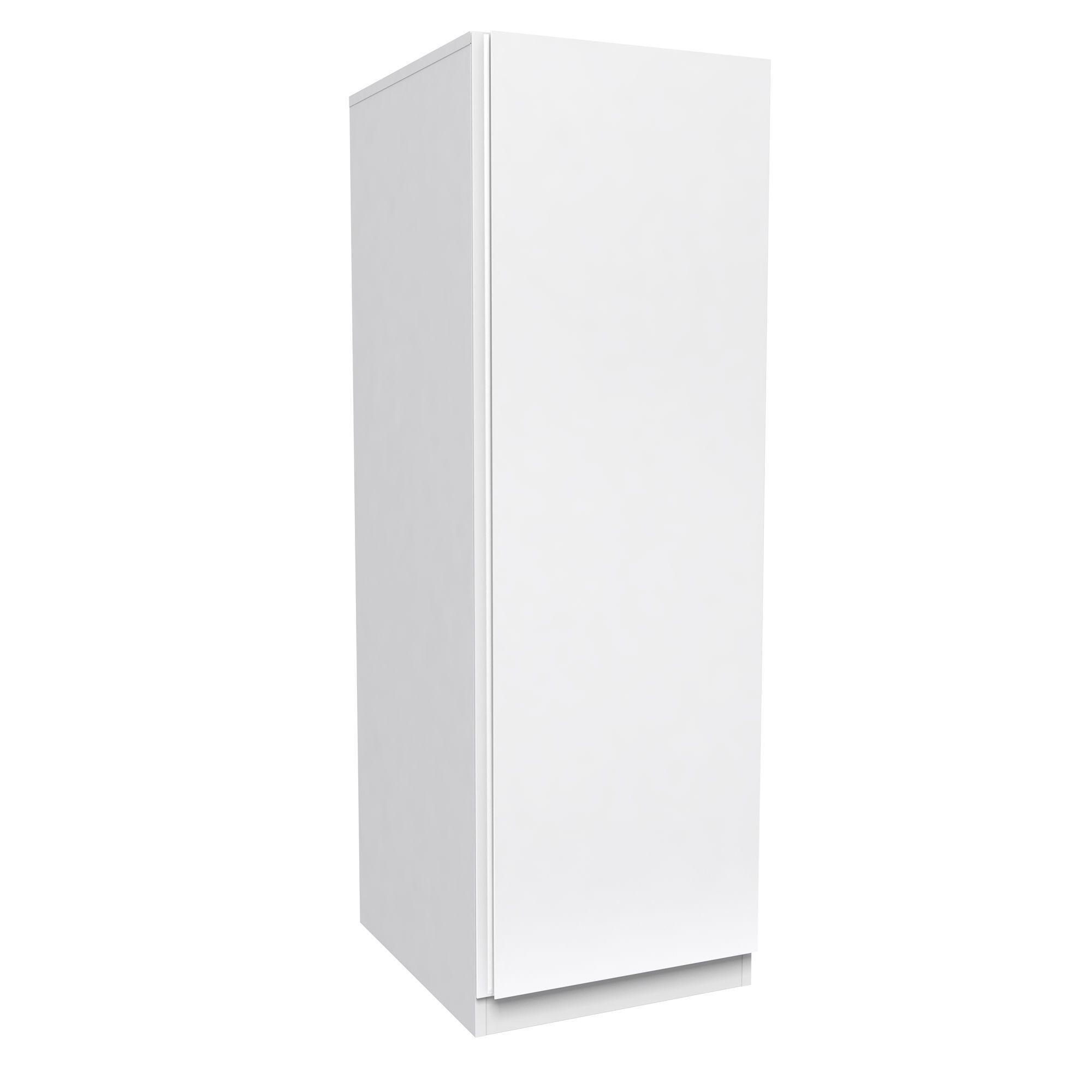 Darwin Handpicked White Matt 1 Door Single Wardrobe (h)2004mm (w)498mm