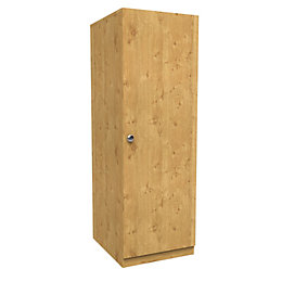 Darwin Oak Effect 1 Door Wardrobe (H)1506mm (W)500mm