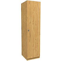 Darwin Oak Effect 1 Door Wardrobe (H)2004mm (W)500mm