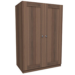 Darwin Handpicked Walnut Effect Double Wardrobe