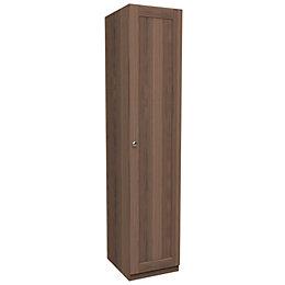Darwin Handpicked Walnut Effect Tall Single Wardrobe (H)2356