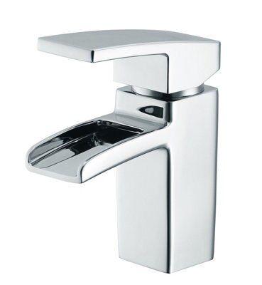 cooke lewis havasu waterfall 1 lever basin mixer tap. Black Bedroom Furniture Sets. Home Design Ideas