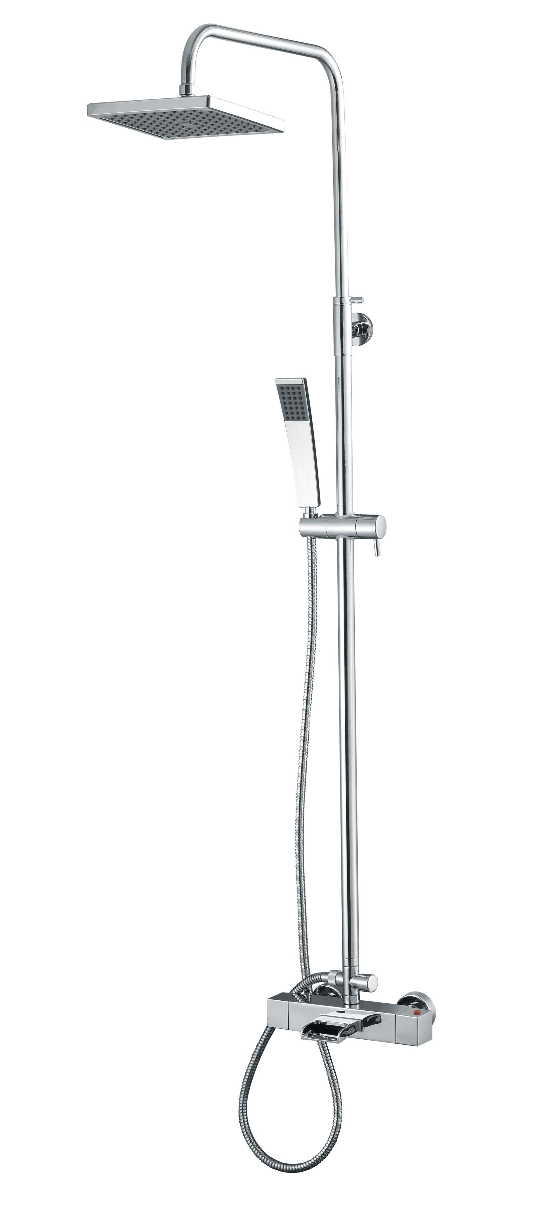 Cooke Amp Lewis Havasu Chrome Thermostatic Bath Filler Mixer