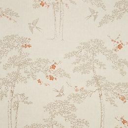 Colours Blossoming Cream & Gold Foliage & Bird