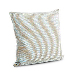 Carpel Chenille Duck Egg Cushion