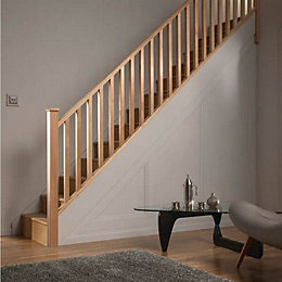Square Hemlock 32mm Complete Banister Project Kit