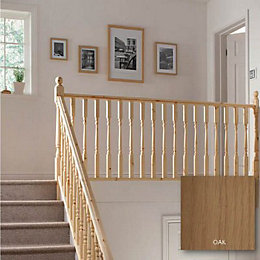 Colonial Oak 32mm Complete Landing Project Kit