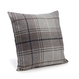 Lamego Tartan Grey Cushion