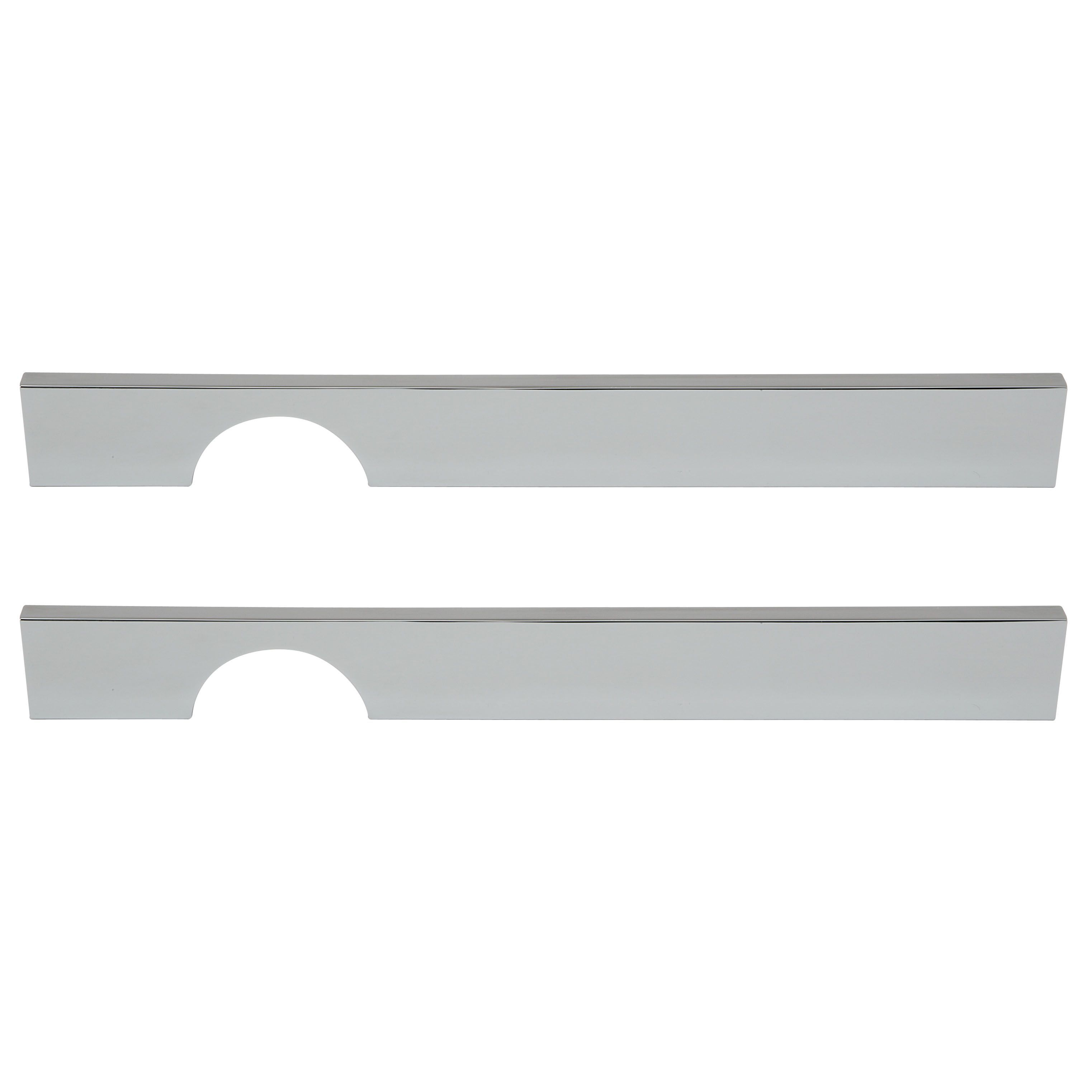 Cooke U0026 Lewis Polished Chrome Effect Straight Small Cut Out Cabinet Handle,  Pack Of