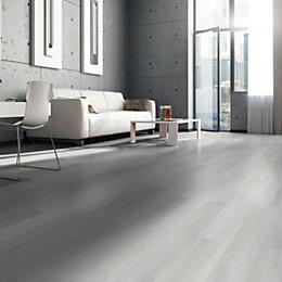 Colours Self Adhesive Grey Wood Effect Vinyl Plank 0 97 M 178