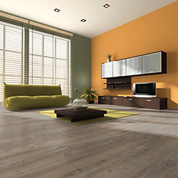 Belcanto Smoked Pine Effect Laminate Flooring 1.99 m²