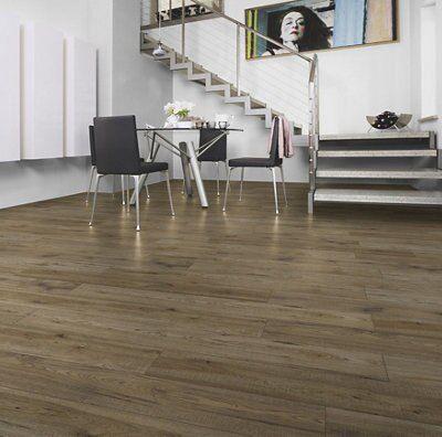B Q White High Gloss Laminate Flooring Acai Sofa