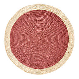 Colours Elma Natural & Rust Two Tone Border