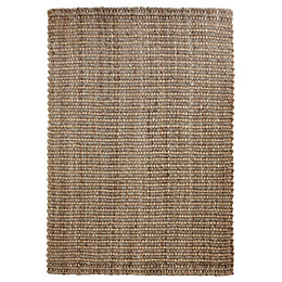 Colours Maxie Natural Flatweave Rug (L)170cm (W)120cm