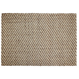 Colours Eila Natural Flatweave Rug (L)170cm (W)120cm