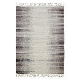 Colours Mindy Grey Ikat Rug (L)170cm (W)120cm