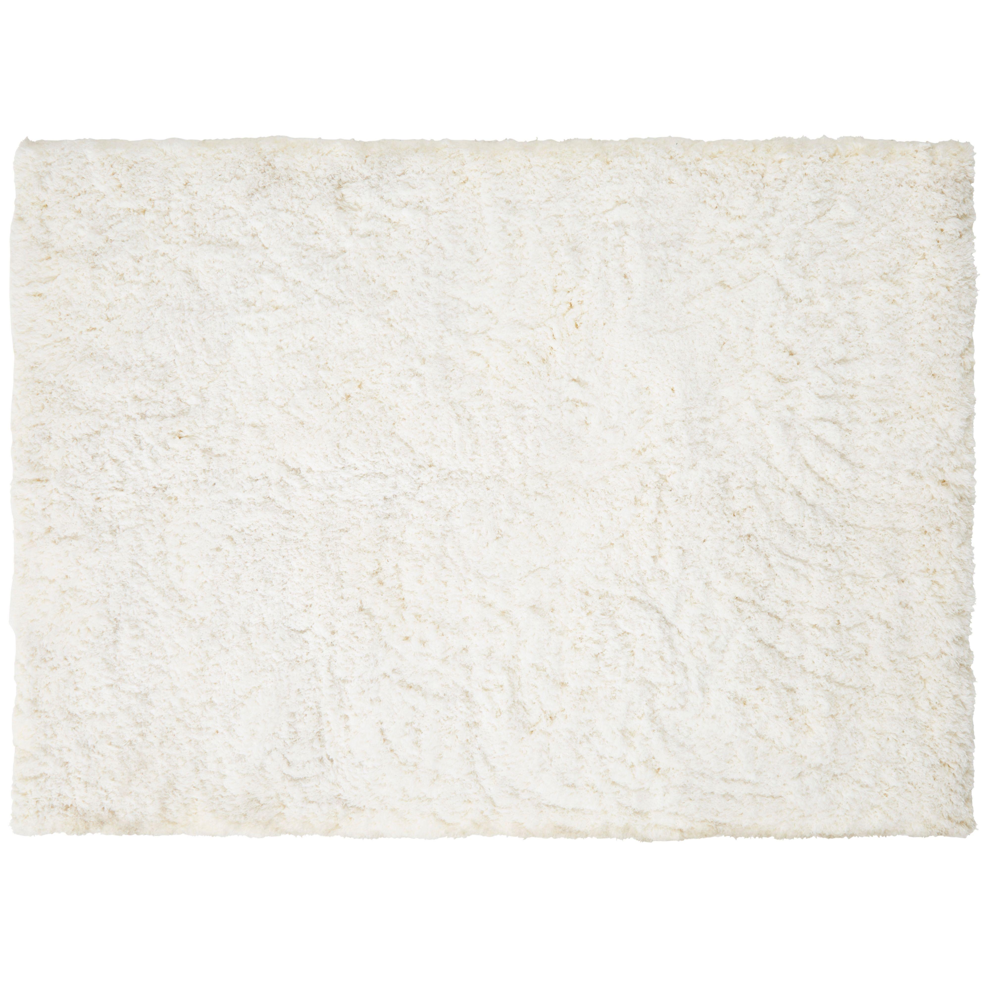 colours gemima cream plain rug (l)cm (w)cm  departments  - colours gemima cream plain rug (l)cm (w)cm  departments  diy at bq