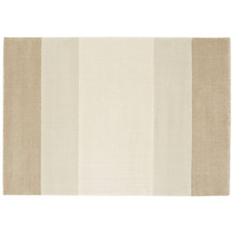 Colours Katia Beige & Cream Stripe Rug (L)170cm