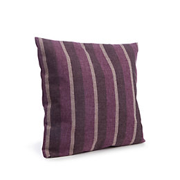 Delena Striped Purple Cushion