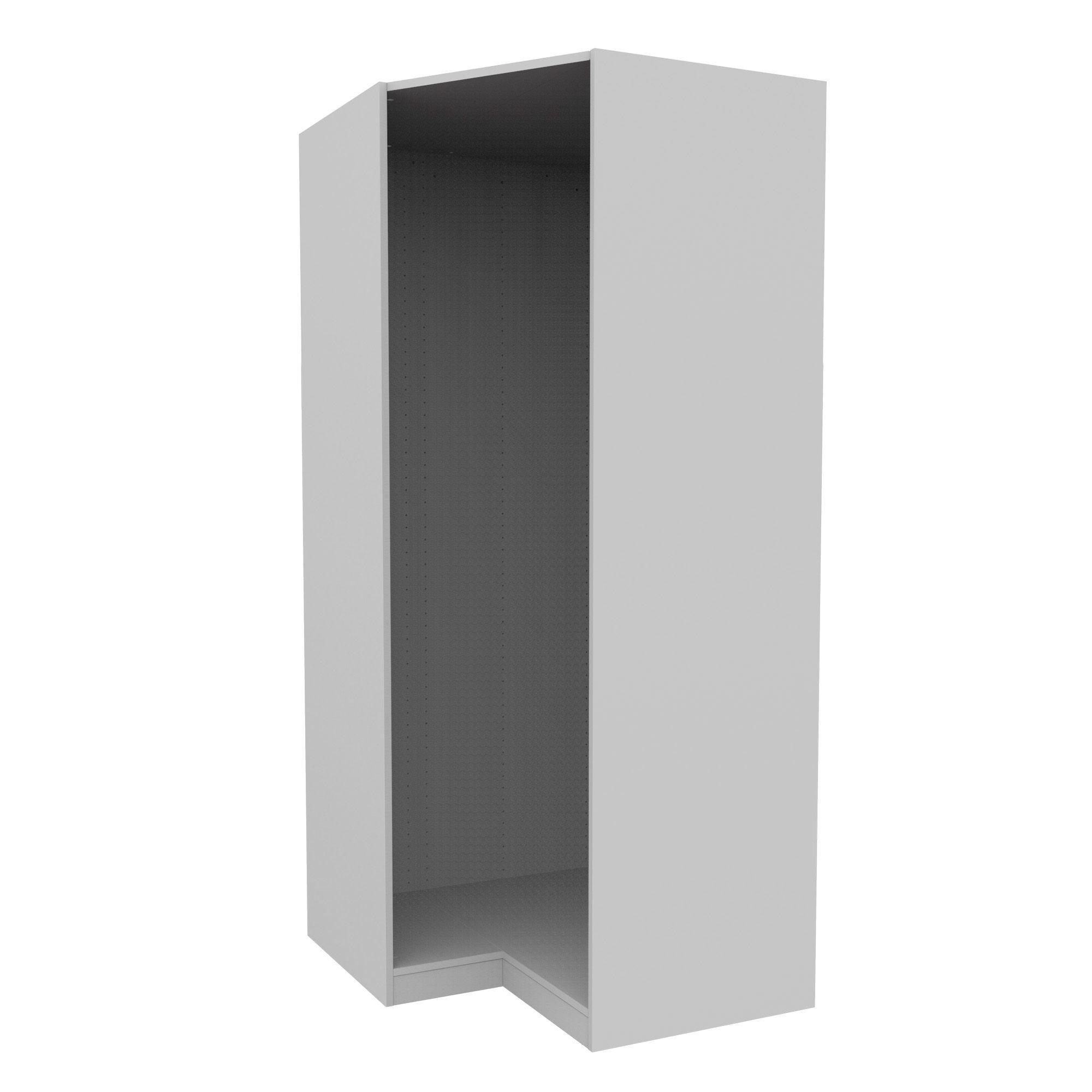 Darwin Modular White Corner Cabinet (h)2004mm (w)998mm (d)662mm
