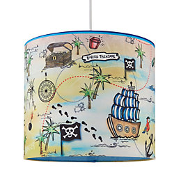 Kids Colours Pirate Multicolour Light Shade (D)25cm