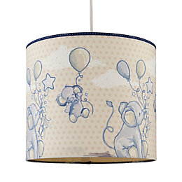 Kids Colours Effalump Blue & Cream Light Shade