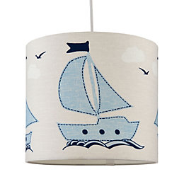 Baby Colours Little Sailor Blue Light Shade (D)25cm