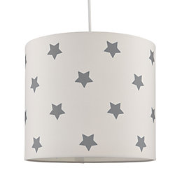 Kids Colours Stars Blue & White Light Shade