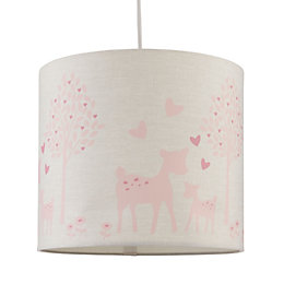 Baby Colours Little Deer Pink Light Shade (D)25cm