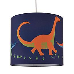 Kids Colours Dinosaur Multicolour Light Shade (D)25cm