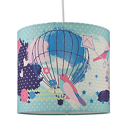 Colours Birds Multicolour Light Shade (D)25cm
