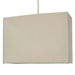 Colours Alban Limestone Rectangle Lamp Shade (D)28cm