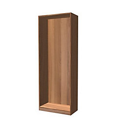 Darwin Modular Walnut Effect Midi Narrow Wardrobe (H)2004