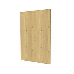 Darwin Modular Oak Effect Bedside Cabinet Door (H)478mm